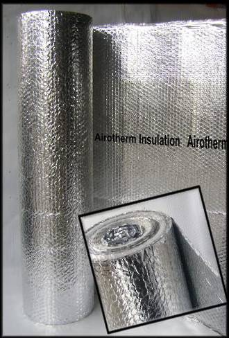 Airotherm roll - 1500mm x 15m (Two layers of foil)
