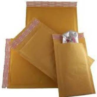 Bubble Padded Paper Envelope Brown 1 - 150mm x 220mm x 45mm flap