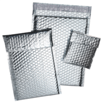 Thermal insulation bubble bag 250mm x 350mm + 50mm flap (100 bags/Ctn)